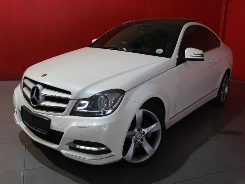 Mercedes C-Class Coupe 180 7G-Tronic