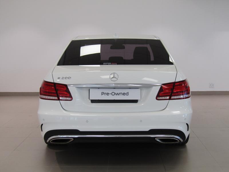 Mercedes-Benz E-Class Sedan E 200 7G-Tronic