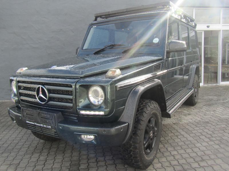 Mercedes G-Glass 350 Bluetec 7G-Tronic