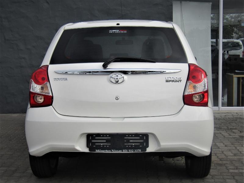 Toyota Etios My19 1.5 Sprint 5 Door