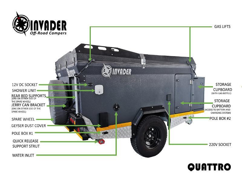 Caravan Invader Quattro KC:5424B ID