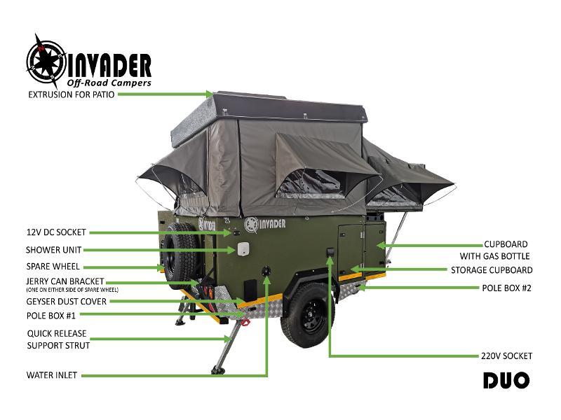 Caravan Invader Duo KC:N0194A ID