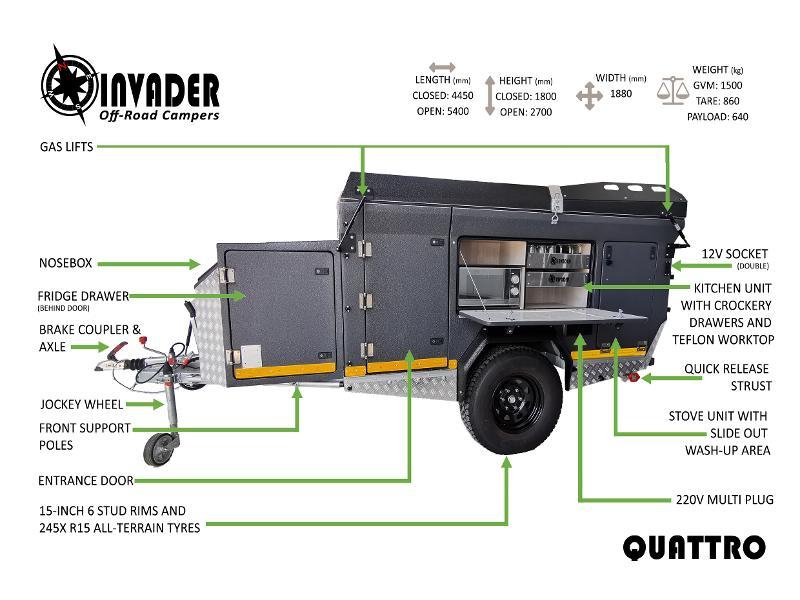 Caravan Invader Quattro KC:N0214 ID