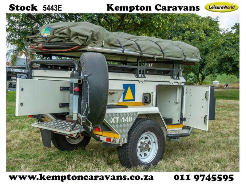 Trailer Jurgens Safari XT 140 KC:5443E ID