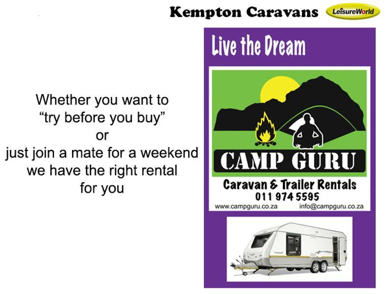 Caravan Sprite Swing KC:5447E ID
