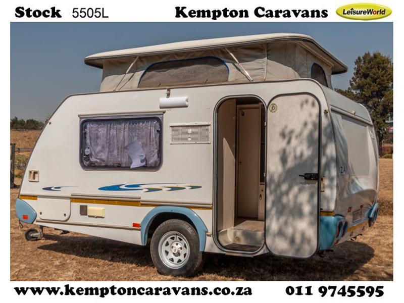 Caravan Sprite Surfer De Lux KC:5505L ID